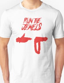 Run the Jewels Silhouette Red T-Shirt
