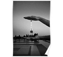 la Tour dans la boîte  Poster