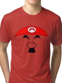 Super Hitler Mario Tri-blend T-Shirt