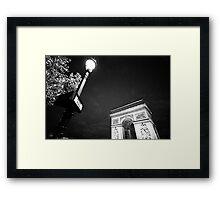 Avenue Foch Framed Print