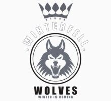 House Stark Sports Badge by liquidsouldes
