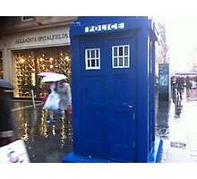 The Tardis on  Buchanan Street Photographic Print