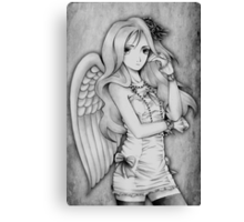 Winged Lolita Canvas Print