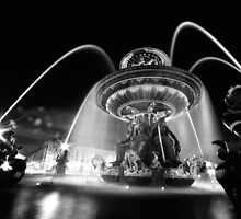 Nuit à Place de la Concorde by Peppedam
