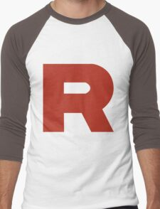 Team Rocket R Men's Baseball ¾ T-Shirt