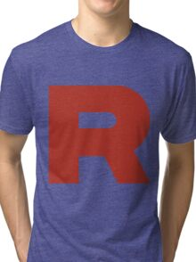 Team Rocket R Tri-blend T-Shirt
