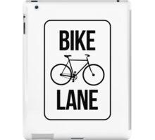 Bike Lane iPad Case/Skin