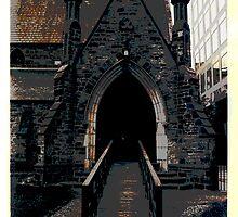 A TORONTO CHURCH, BLOOR STREET  by REKHA Iyern [Fe] Records Canada
