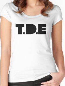 TDE Women's Fitted Scoop T-Shirt