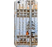 Rusty gate - iPhone case iPhone Case/Skin