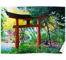 Mayne Island Japanese Garden  Poster