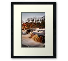 River Swale In Flood Framed Print