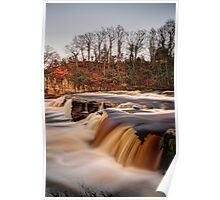 River Swale In Flood Poster