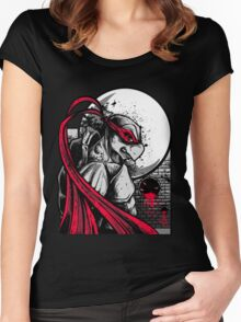 Sewer City Face Off: Part One Women's Fitted Scoop T-Shirt