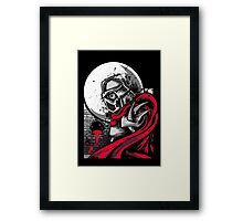 Sewer City Face Off: Part Two Framed Print