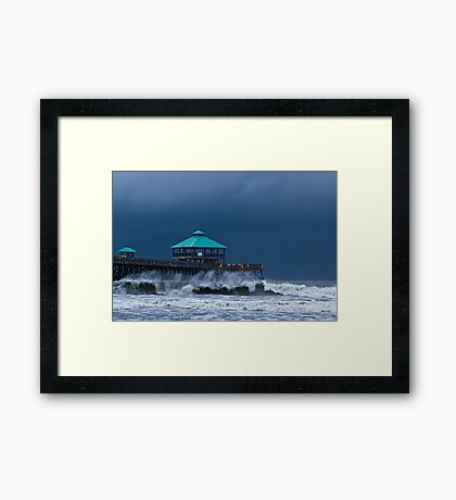 Folly Pier Framed Print