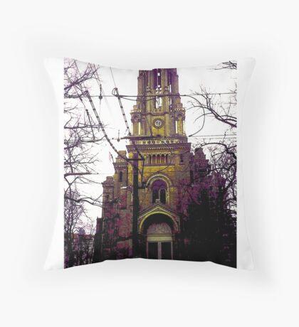 BERLIN KIRCHE Throw Pillow
