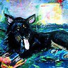 My Dog Friday by Diane  Kramer