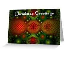Christmas Curlscope Greeting Card