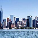 Manhattan Skyline by Ray Chiarello