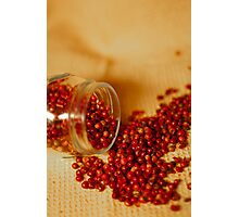 Hot and chilly peppercorns Photographic Print