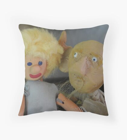 His Beautiful Granddaughter Throw Pillow