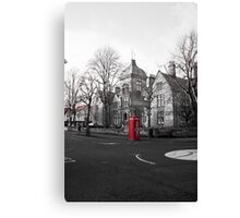 Phone-booth Canvas Print