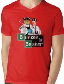 Bunsen & Beaker Mens V-Neck T-Shirt