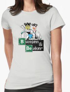Bunsen & Beaker Womens Fitted T-Shirt
