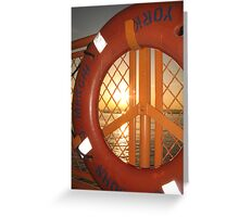 Long Island Ferry Greeting Card
