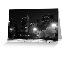 Wollman Rink Greeting Card