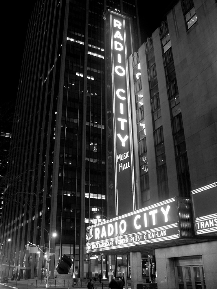 Radio City Music Hall by Chad M