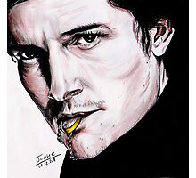Orlando Bloom, British actor. Photographic Print