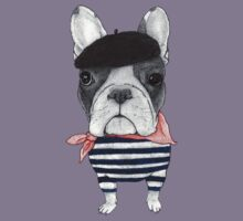 Frenchie With Arc de Triomphe Kids Clothes