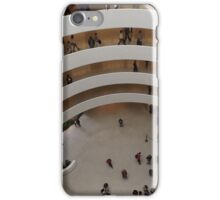 Looking Down at the Guggenheim Museum, Frank Lloyd Wright, Architect, New York City  iPhone Case/Skin