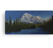 Rocky Mountain Twilight Canvas Print