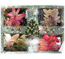 Christmas Cactus ~Merry Christmas Poster