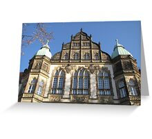 Historic House Facade Greeting Card