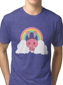 Kawaii Bunny Tri-blend T-Shirt