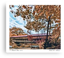 Seated For Autumn Canvas Print