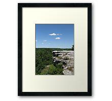 Castle Rock on the Rock Framed Print