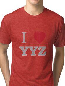 I Heart Toronto Tri-blend T-Shirt
