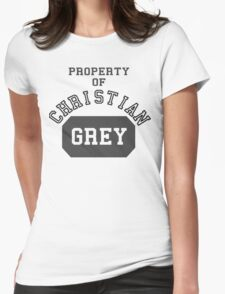 Property of Christian Grey Womens Fitted T-Shirt