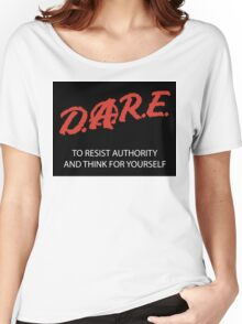 DARE TO RESIST II Women's Relaxed Fit T-Shirt