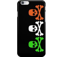 Irish Skulls iPhone Case/Skin