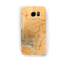 Old Style Space Shuttle Sketch Samsung Galaxy Case/Skin