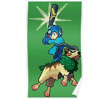 Go-Goat and Mega Man Poster