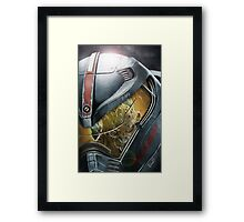 Gypsy Danger VS Godzilla Framed Print