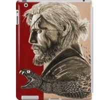 Venom Snake iPad Case/Skin