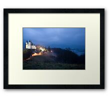 The beacon on the hill Framed Print